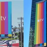 Apple ทำป้ายโฆษณา Apple TV รุ่นใหม่ ในหลายเมืองทั่วสหรัฐอเมริกา
