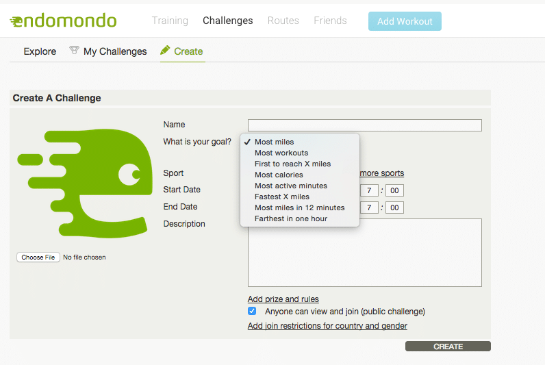 endomondo-challenges