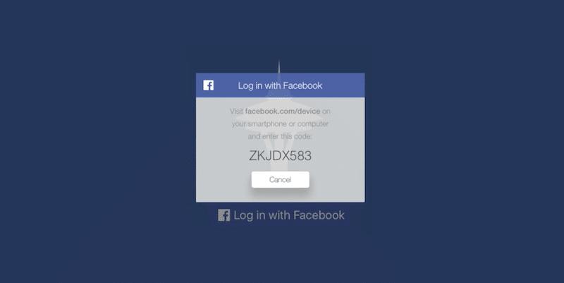 facebook-login-tvos