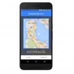 Google Maps จะใช้งานแผนที่แบบออฟไลน์ได้ เร็วๆ นี้บน iOS