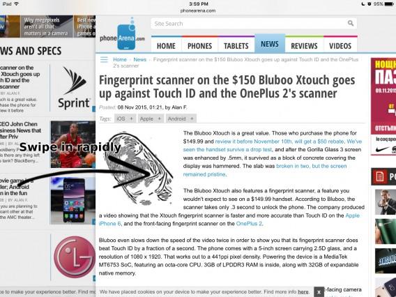 Safari-swipe-gestures-to-be-faster