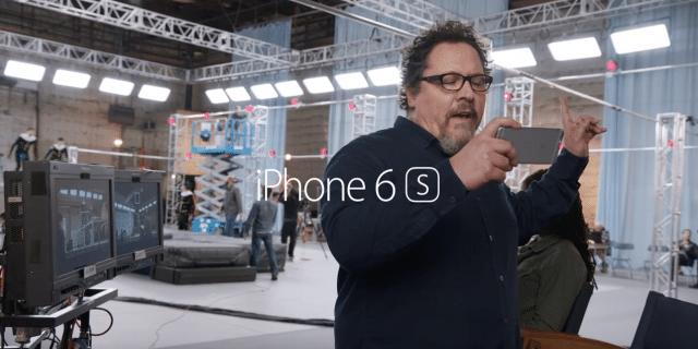 iphone-6s-ad-jon-favreau-iron-man-director