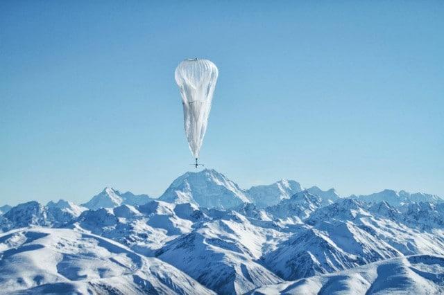 Project Loon ตัวอย่างโครงการวิจัยของ Google ที่ทดสอบกระจายสัญญาณอินเทอร์เน็ตด้วยบอลลูน