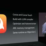 Craig Federighi หัวหน้าทีมซอฟต์แวร์ให้สัมภาษณ์ เผยการใช้งาน Swift หลังโอเพ่นซอร์ส