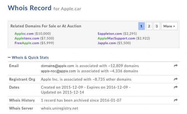 Apple-car-domain