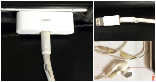 Cable Lightning earpods bad