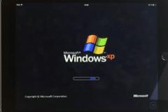 Windows XP running on iPad