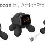 """[CES2016] """"Bozon"""" แท่นชาร์จ Apple Watch ทำจากยาง ดีไซน์สวยแถมเล็กน่ารักด้วย"""