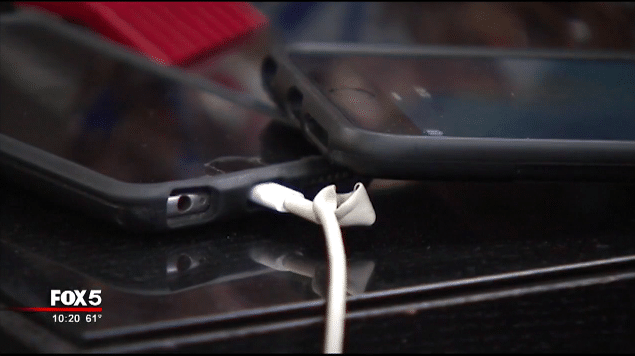 iPhone 6 Plus Catches Fire While Charging on Bed -3