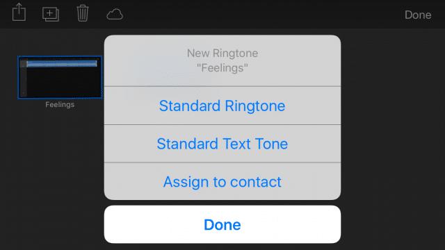 Ringtone GarageBand iOS-13
