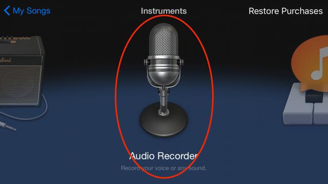Ringtone GarageBand iOS-16