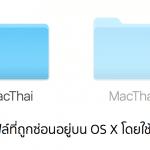 วิธีเปิดและปิดการดูไฟล์ที่ถูกซ่อน (Hidden Files) บน Mac OS X