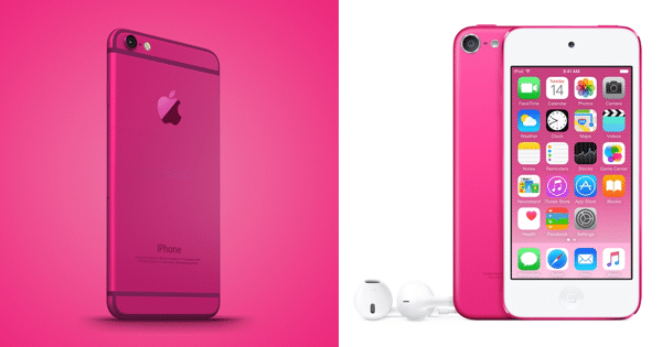 iphone 5se pink