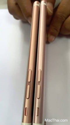 iphone 6s rose gold different shade thailand-4
