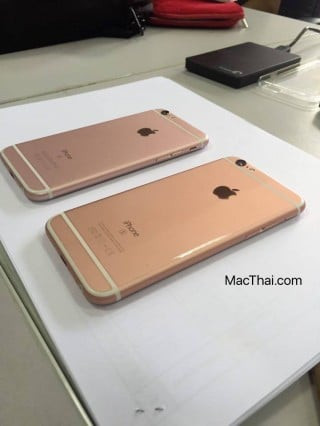 iphone 6s rose gold different shade thailand-5