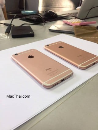 iphone 6s rose gold different shade thailand-6