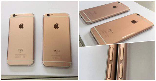 iphone 6s rose gold different shade thailand-featured