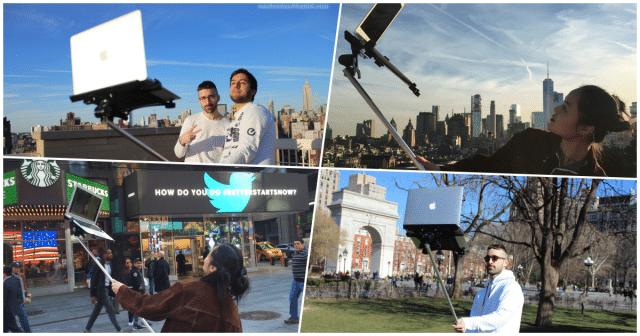 selfie stick macbook featured