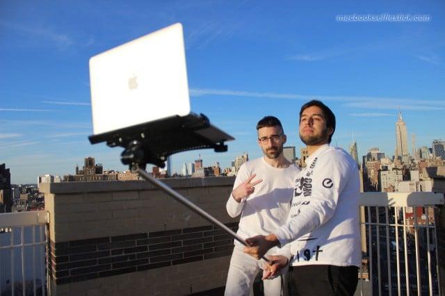 selfie stick macbook1