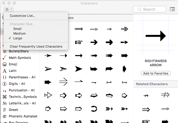 how to insert emoji symbols mac osx3