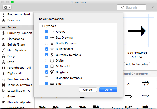 how to insert emoji symbols mac osx4