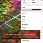 iOS 9.3 จะเพิ่มการแจ้งเตือนว่า iPhone จากที่ทำงานกำลังถูกสอดส่องโดยบริษัท