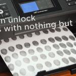 [ชมคลิป] วิธีแฮกลายนิ้วมือบนมือถือ Samsung, Huawei ด้วยเครื่อง Printer Inkjet