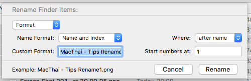 How to fast rename by right click2