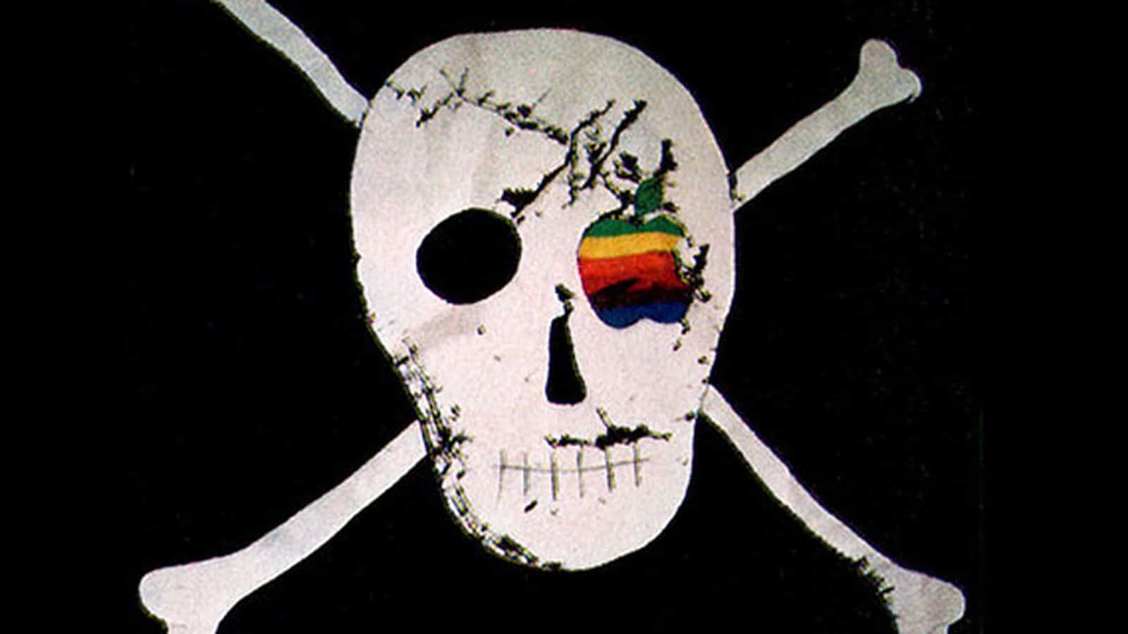 ธงโจรสลัดที่ใช้ในทีมงาน Macintosh