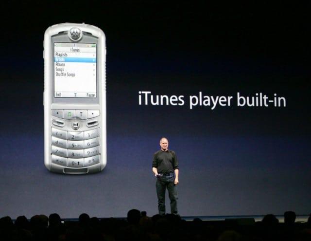 Motorola กับ iTunes Player