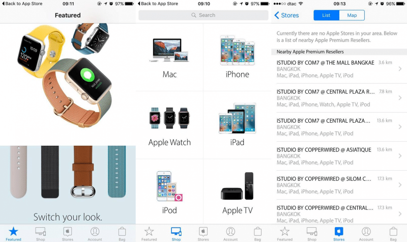 apple store ios app