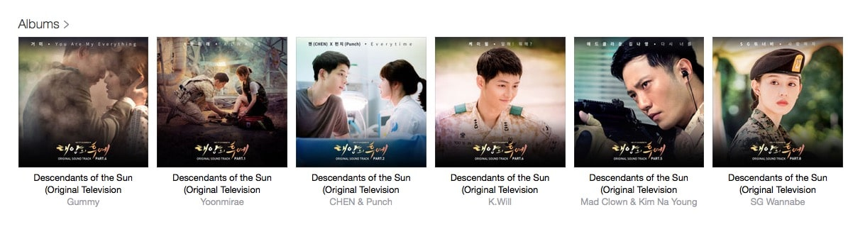 download-ost-descendants-of-the-sun-on-itunes-apple-music-2