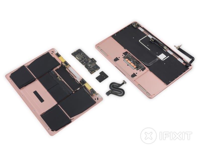 ifixit macbook rose gold 1