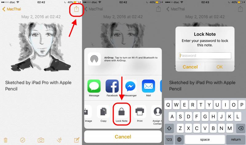 Tips_Lock Notes iOS OSX3