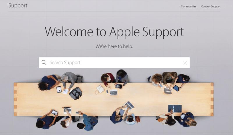 apple-support-new-website