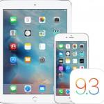 Apple ออก iOS 9.3.2 แก้บั๊กหลายรายการ