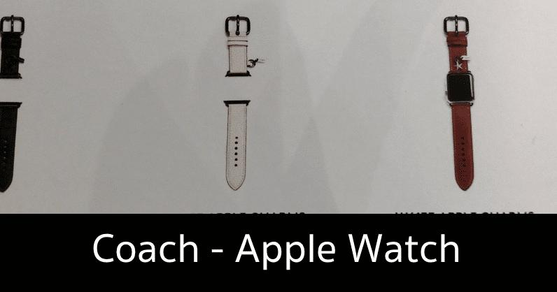 coach apple watch