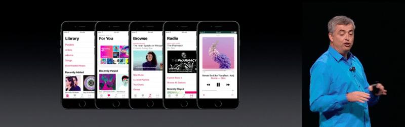 apple music new ui ios 103