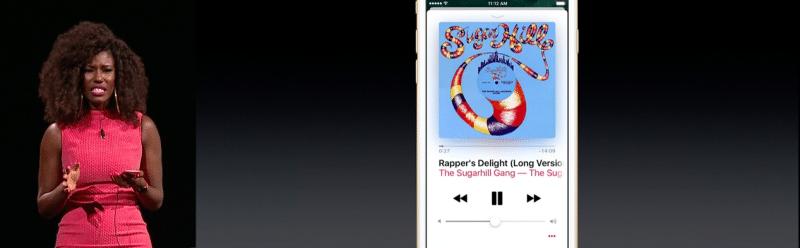 apple music new ui ios 105