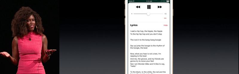 apple music new ui ios 106