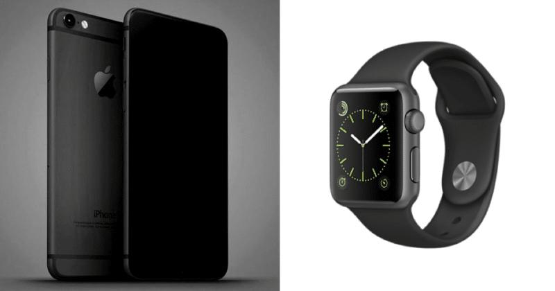 [ลือ] iPhone 7 อาจจะมีสี Space Black ใหม่, Apple Watch 2 ...