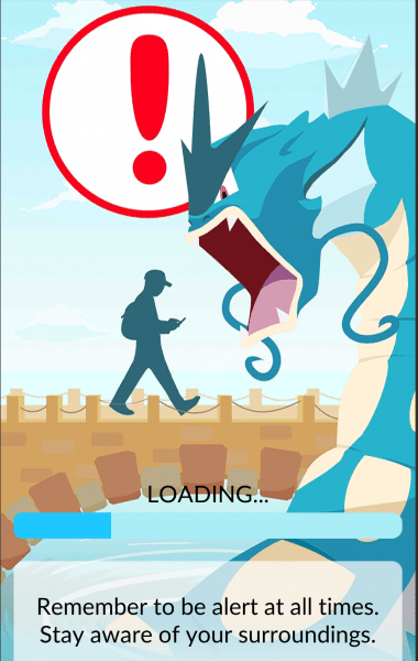 caution pokemon go-2