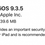 รวมช่องทางโหลด iOS 9.3.5 แบบไฟล์ (IPSW) สำหรับ iPhone, iPad และ iPod Touch