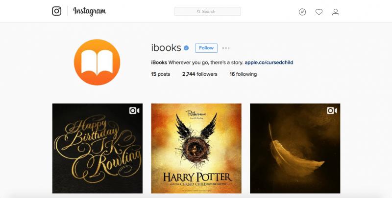 ibooks-instagram-account