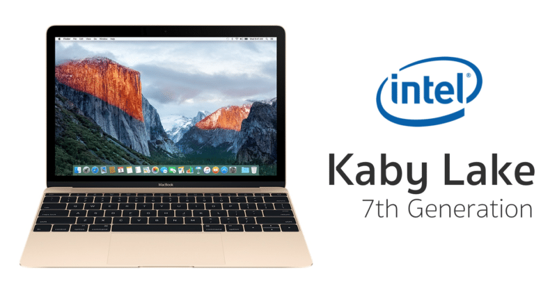 intel kaby lake macbook air