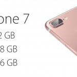 หมดยุคความจำ 16 GB !! iPhone 7 อาจจะมาพร้อมความจุ 32, 128 และ 256 GB