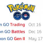 หลุด !! วันเปิดตัว Pokémon GO ภาคใหม่ พร้อมโหมดใหม่เพียบ เริ่มปลายปีนี้