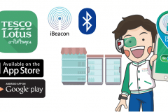 tesco lotus ibeacon