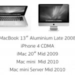แจกแพ !! Apple เลิกสนับสนุน iPhone 4 CDMA และ MacBook Alu Late 2008 แล้ว