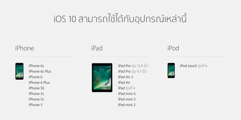 ios 10 device